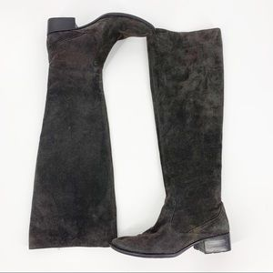 Born Cady over the knee suede tall boots